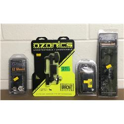 GR OF 4, OZONICS HUNTING ACCESSORIES - NEW