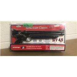CROSMAN, AMERICAN CLASSIC MODEL, .177 PISTOL