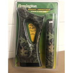 REMINGTON, MODEL 11 - 87, REPLACEMENT CAMO STOCK.