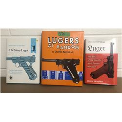 GR OF 3 LUGER BOOKS