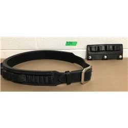 GR OF 2 LEATHER CARTRIDGE BELTS