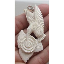 Hand Craved Pendant