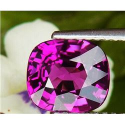 NATURAL PURPLE RHODOLITE GARNET 2.42 CT