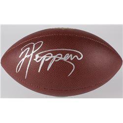 Jabrill Peppers Signed NFL Football (JSA COA)