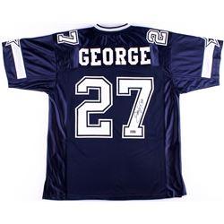 Eddie George Signed Jersey (Radtke COA)