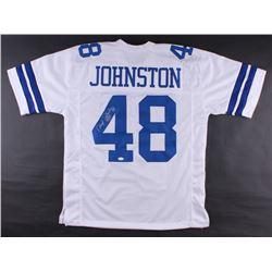 "Daryl Johnston Signed Jersey Inscribed ""Moose"" (JSA COA)"