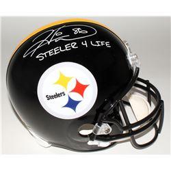 "Hines Ward Signed Steelers Full-Size Helmet Inscribed ""Steeler 4 Life"" (JSA COA)"