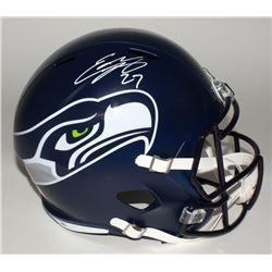 Eddie Lacy Signed Seahawks Full-Size Speed Helmet (Lacy Hologram)