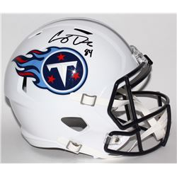 Corey Davis Signed Titans Full-Size Speed Helmet (JSA COA)