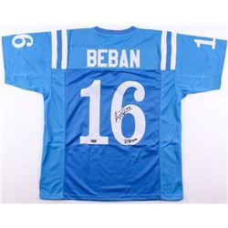 "Gary Beban Signed Jersey Inscribed ""67 Heisman"" (Radtke COA)"