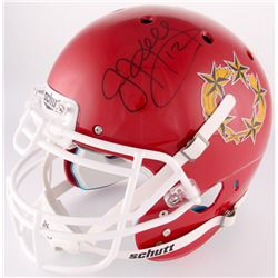 Jim Kelly Signed Generals Full-Size Authentic On-Field Helmet (Beckett COA)