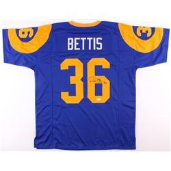 Jerome Bettis Signed Jersey (JSA COA)