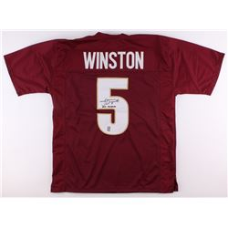 "Jameis Winston Signed Jersey Inscribed ""2013 Heisman"" (Winston Hologram)"