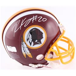 Robert Kelley Signed Redskins Mini-Helmet (JSA COA)