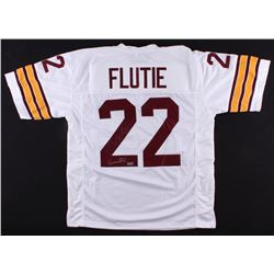 "Doug Flutie Signed Jersey Inscribed ""Heisman 84"" (Radtke Hologram)"