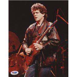 Lou Reed Signed 8x10 Photo (PSA COA)