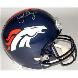 John Elway Signed Broncos Full-Size Helmet (Elway Hologram)