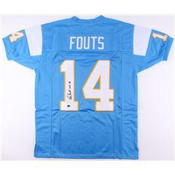 """Dan Fouts Signed Jersey Inscribed """"HOF '93"""" (JSA COA)"""