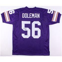 """Chris Doleman Signed Jersey Inscribed """"HOF 12"""" (SGC COA)"""