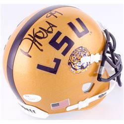 Arden Key Signed LSU Tigers Mini-Helmet (JSA COA)