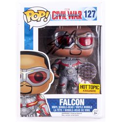 "Stan Lee Signed ""Falcon"" Marvel Funko Pop Figure (Lee Hologram)"
