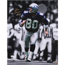 "Steve Largent Signed Seahawks 16x20 Photo Inscirbed ""HOF 95"" (JSA COA)"