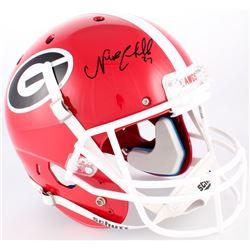 Thomas Davis Signed Georgia Bulldogs Full-Size Helmet (Radtke Hologram)