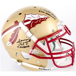 Jameis Winston, Charlie Ward  Chris Weinke Florida State Seminoles Full-Size Authentic On-Helmet wit