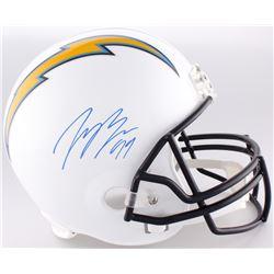 Joey Bosa Signed Chargers Full-Size Helmet (JSA COA)