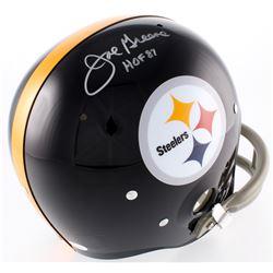 "Joe Greene Signed Steelers TK Suspension Full-Size Inscribed ""HOF 87"" (Radtke COA)"
