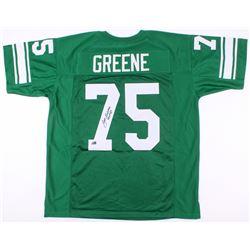 Joe Greene Signed Jersey Inscribed  HOF 87  (Radtke COA)