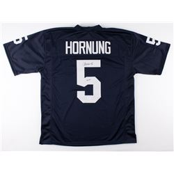 "Paul Hornung Signed Notre Dame Fighting Irish Jersey Inscribed ""56 H."" (JSA COA)"