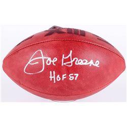 Joe Greene Signed Super Bowl XIII NFL Official Game Ball Inscribed  HOF 87  (JSA COA)
