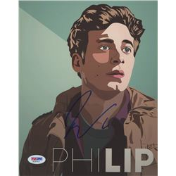 "Jeremy Allen White Signed ""Shameless"" 8x10 Photo (PSA COA)"