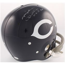 "Mike Ditka Signed Bears Throwback TK Suspension Full-Size Helmet Inscribed ""H.O.F. 88"" (JSA COA)"