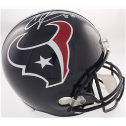Andre Johnson Signed Texans Full-Size Helmet (JSA COA)