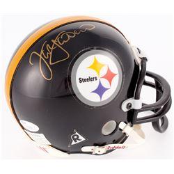 Jack Lambert Signed Steelers Mini-Helmet (JSA COA)