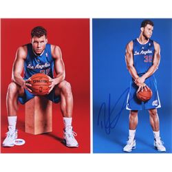 Blake Griffin Signed Clippers 11x14 Photo (PSA COA)