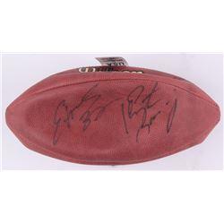 Peyton Manning  Edgerrin James Signed NFL Football (Beckett COA)