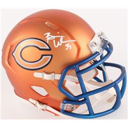 Brian Urlacher Signed Bears Mini Blaze Speed Helmet (Radtke COA)