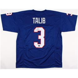 Aqib Talib Signed Kansas Jayhawks Jersey (Radtke COA)