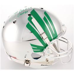 Joe Greene Signed North Texas Mean Green Full-Size Helmet (Radtke COA)