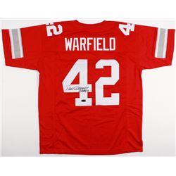 "Paul Warfield Signed Jersey Inscribed ""HOF 83"" (Radtke COA)"