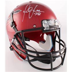 Marshall Faulk Signed San Diego State Aztecs Full-Size Helmet (Radtke COA)