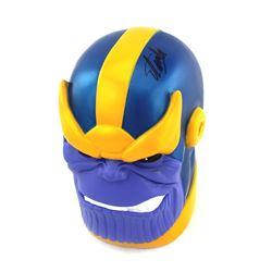 "Stan Lee Signed Signed ""Thanos"" Coin Bank (Radtke COA)"