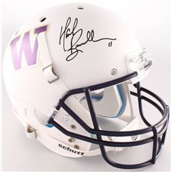 Mark Brunell Signed Washington Huskies Full-Size Matte White Helmet (Radtke COA)