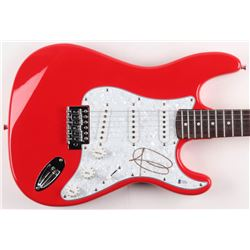 Adam Levine Signed Full-Size Electric Guitar (Beckett COA)