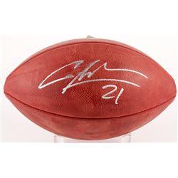 """Charles Woodson Signed """"The Duke"""" Official NFL Game Ball (JSA COA)"""