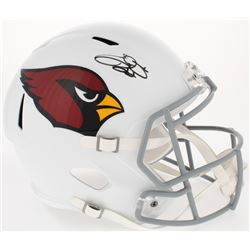 Emmitt Smith Signed Cardinals Full-Size Speed Helmet (Prova COA)