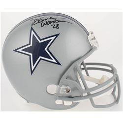 Darren Woodson Signed Cowboys Full-Size Helmet (Radtke COA)